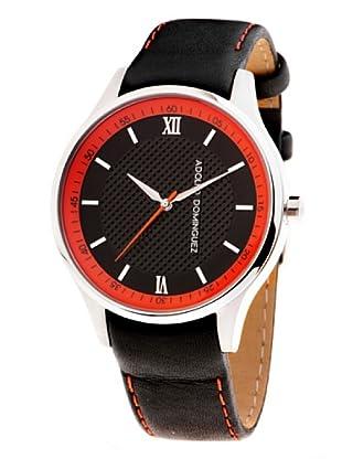 Adolfo Dominguez Watches 68005 - Reloj de Caballero cuarzo correa piel Negro