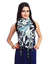 Red Riding Women's Scarf (STOVISS15014_Multi-Coloured_Free Size)