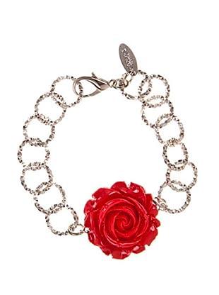 Lágrimas Negras Armband Red Rose