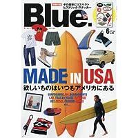 Blue. 2017年6月号 小さい表紙画像