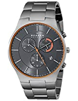 Skagen Balder Chronograph Grey Dial Men's Watch - SKW6076