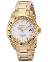 Invicta Watches, Men's Pro Diver 23kt Goldplated, Model 8938