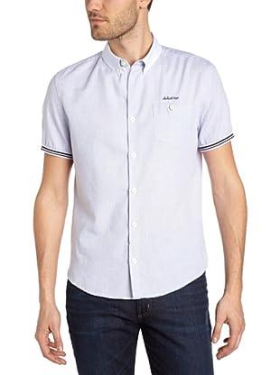 Schott NYC Camisa Henri (Azul)
