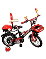 HLX-NMC KIDS BICYCLE 14 CAR-X RED/BLACK