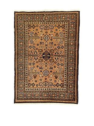 L'Eden del Tappeto Teppich Azerbaijan braun 160t x t115 cm