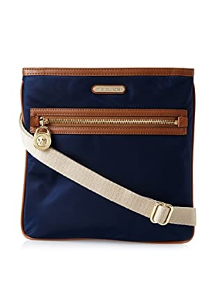 MICHAEL Michael Kors Women's Kempton Nylon Cross-Body, Navy