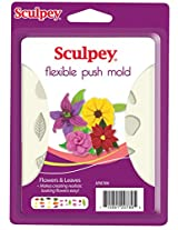 Sculpey Push Mold -Flowers and Leaves