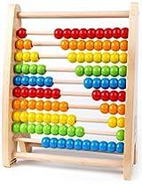 Hape-Wooden Rainbow Bead Abacus