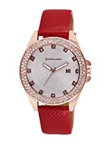 Giordano Analog White Dial Women's Watch - 60051