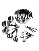 COOK'S CHOICE CKCMK1005 Cookware Bundle, 14 Piece