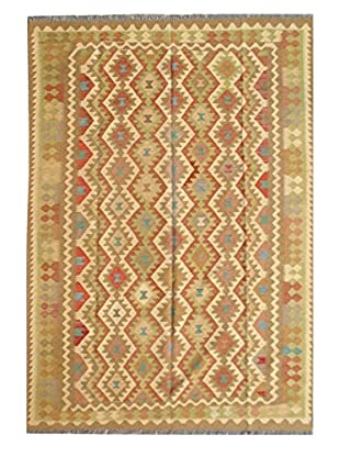 nuLOOM One-of-a-Kind Hand Woven Glen Kilim, Multi, 6' 6