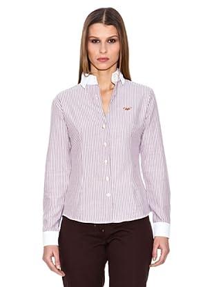 Spagnolo Camisa Oxford Diva (Marrón)