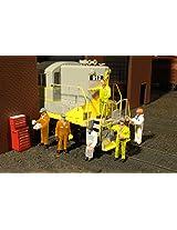 Bachmann Industries Miniature Ho Scale Figures Mechanics Train(6 Piece)