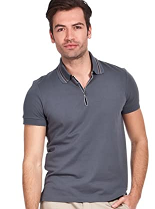 Hugo Boss Polo Pejo (Gris Antracita)