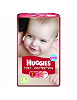 Huggies Total Protection Diapers Small - 26 Pcs 3 - 8 Kgs