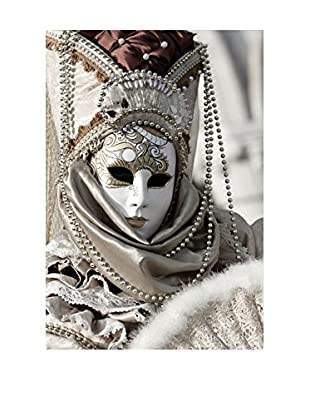 Best seller living Leinwandbild Mask Venice