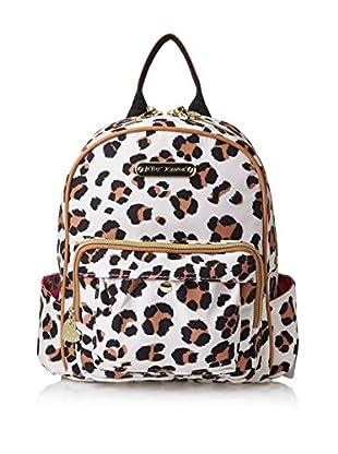 Betsey Johnson Women's TFIG Medium Backpack, Natural