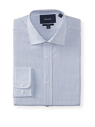 Façonnable Men's Club Fit Dress Shirt (Royal Blue)