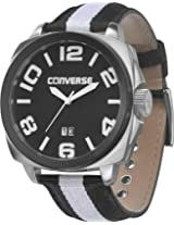 Converse Andover Black And White Nylon Mens Watch Vr036-005