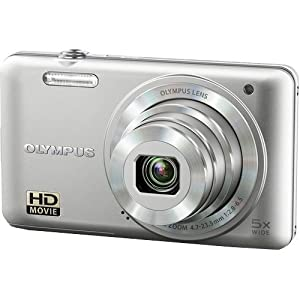 Olympus VG-160 14MP Digital Camera with 5x Optical Zoom (Silver) (Old Model)