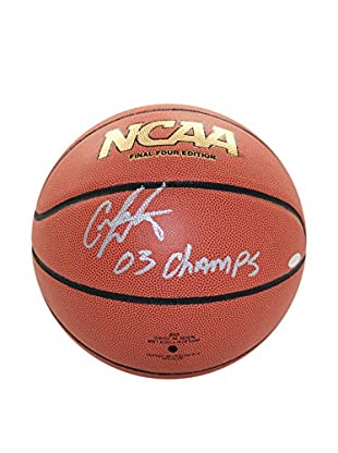 Steiner Sports Memorabilia Carmelo Anthony Autographed NCAA Basketball Inscribed