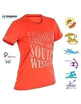 Water T shirt Femme, L