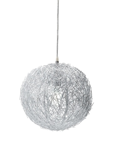 Trend Lighting Distratto Large Pendant, Polished Chrome