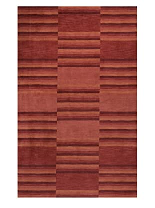 Momeni Striped Rug, Red, 2' 6