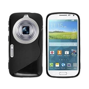 ESI Black S line TPU Back Cover Soft case for Samsung Galaxy K Zoom SM-C115