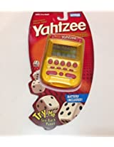 2004 Hasbro Parker Brothers Electronic Hand-Held Golden Yahtzee LCD Game #04511