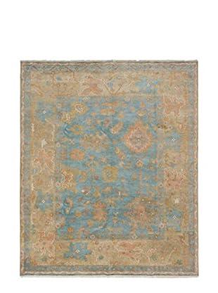 eCarpet Gallery Royal Ushak Rug, Dark Cyan, 8' x 10'