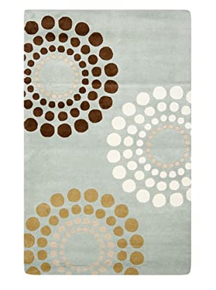 Soho Rugs Large Medallions (Blue/Multi)