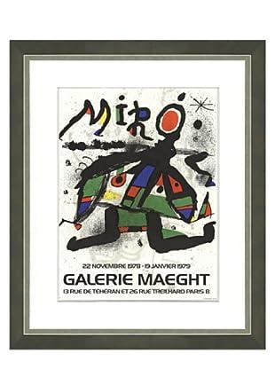 Joan Miró: Exposition Gallerie Maeght, 1978