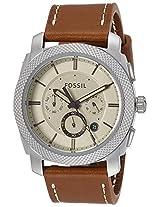 Fossil End-of-season Machine Analog Beige Dial Men's Watch - FS5131I