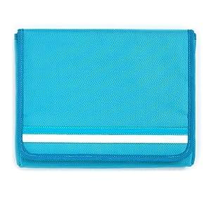 【クリックでお店のこの商品のページへ】Simplism iPad用ナイロンスリーブケース オーシャンブルー TR-NSIPAD-OB