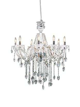 Control Brand Octopussy L.E.D Chandelier, Clear
