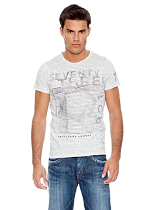 Pepe Jeans London Camiseta Bedford (Gris)