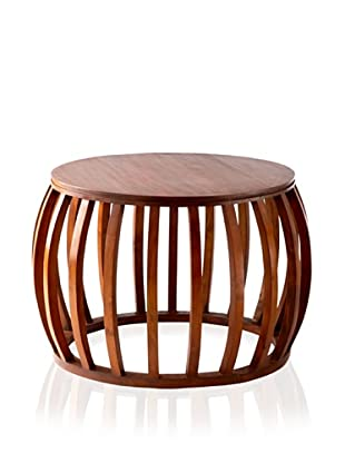 Jeffan Carly Round Table (Honey Brown)