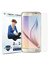 Tech Armor Samsung Galaxy S6 (NOT Galaxy S6 Edge) Anti-Glare/Anti-Fingerprint (Matte) Screen Protectors [3-Pack] Lifetime Warranty