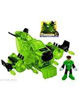 Fisher Price Imaginext Justice League Green Lantern Jet & Figure New Release 2015