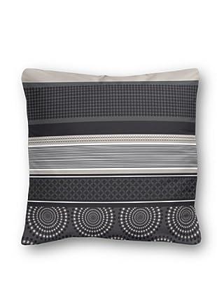 Casual Textil Cojín Hindi (Negro)