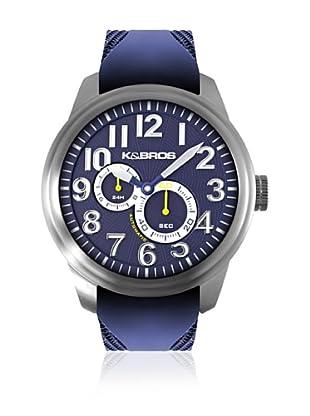 K&BROS Reloj 9460 (Azul)
