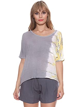 Santa Barbara Camiseta Tie-Dye (Gris)