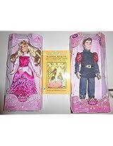 Disney Sleeping Beuaty Aurora And Prince Phillip Plus Book Of Fairy Tales