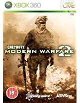 Xbox Call Of Duty Modern Warfare 2 Pal Original Xbox 360 Action Game