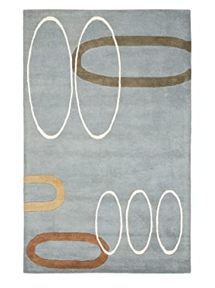 Safavieh Soho Handmade New Zealand Wool Rug (Blue/Multi)