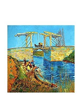 Legendarte Lienzo Il Ponte Di Langlois di Vincent Van Gogh
