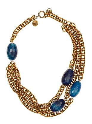 Pedro del Hierro Collar Piedras (Azul marino)