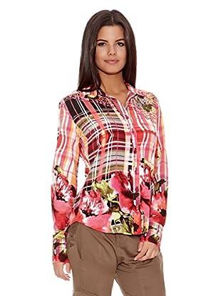 Desigual Camisa Mison (Fresa / Blanco)