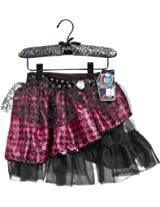 Monster High Scary Cute Pettiskirt Pink Houndstooth